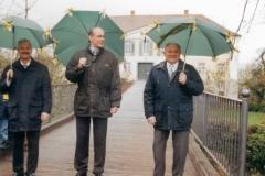 Schirmherren: Bürgermeister Werner Fischer, Georg Graf von Walderdorff, Ehrenschirmherr und Altbürgermeister Johann Loidl (nicht auf dem Foto Schirmherr Willi Bauer)