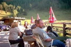 Web Ausflug 2003 Ankunft Hoellensteinhuette 2