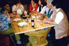 Web Ausflug 2003 Huettenabend Hoellensteinhuette 2