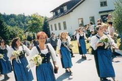 Schillertswiesen 2002 Vereinsdamen