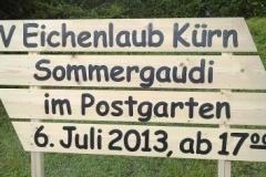 Sommergauditafel 2013